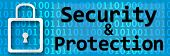 Security And Protection Binary Banner
