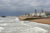 Seafront At Brighton. Sussex. England