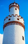 White Tower of Castle in Bad Homburg, near Frankfurt, Germany
