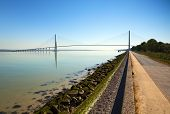 Pont De Normandie, Le Havre, France