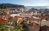 Town of Piran, adriatic sea, Slovenia