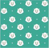 seamless pattern ship background