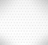 Pimpled seamless pattern. Grey circles background. Vector illustration