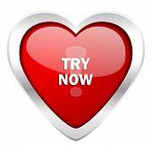 try now valentine icon