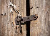 Rustic Door Latch
