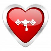 water valentine icon hydraulics sign