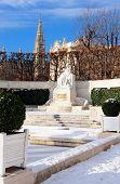 pic of sissi  - Monument empress Sisi in the Volksgarten Vienna Austria - JPG