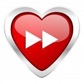 rewind valentine icon