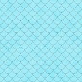 Teal Shell Tiles Pattern Repeat Background