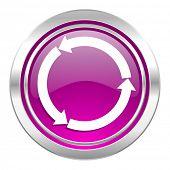 refresh violet icon reload violet icon