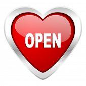 open valentine icon