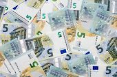 New Five Euro Banknotes