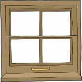 Isolated Cartoon Window