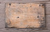 old wooden board inscriptions