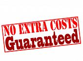No Extra Costs Guaranteed