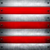 metal bars background