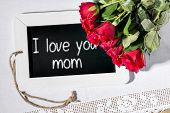 Slate Blackboard Love Mom