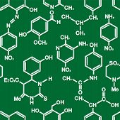 Organic chemistry structural formula pattern