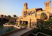 Area of the Madinat Jumeirah complex.
