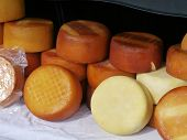 Croatian cheese from the island Pag