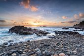 Sunset At Cape Cornwall