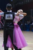 Baboshin Egor and Biryuk Olga perform Juvenile-1 Standard European program
