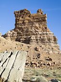 stock photo of molly  - Sandstone formation at Molly - JPG