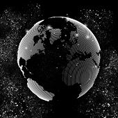 picture of earth structure  - World globe - JPG