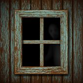 image of lunate  - Ghost in the old window - JPG