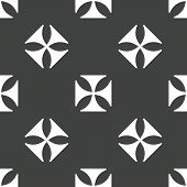 picture of maltese  - Version of maltese cross repeated on grey background - JPG