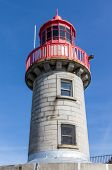image of lighthouse  - Lighthouse of one of the largest harbours in Irleland the lighthouse is located at the end of the East Pier - JPG