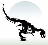 picture of dinosaurus  - Vector Image  - JPG