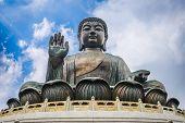 picture of buddha  - Hong Kong - JPG