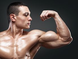 picture of shoulder muscle  - Close - JPG