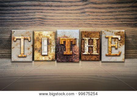Tithe Concept Letterpress Theme