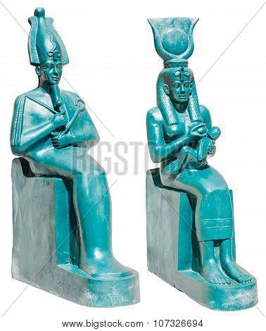 Statue Of Ancient Egypt Deities