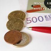 Credit Card Euro Coin