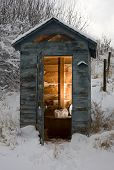 Winter Bathroom