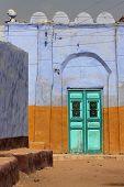Nubian village door