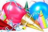 stock photo of party hats  - new year - JPG
