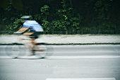 A ciclist