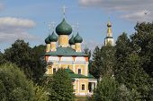 foto of uglich  - old church in the ancient town of Uglich - JPG