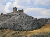 Genoese Fortress In Crime