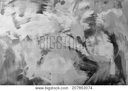 poster of abstract colorful backdrop of acrylic gouache or watercolor paint vivid colors on flat textured wall background
