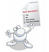 Man research god