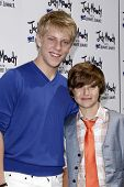 LOS ANGELES - JUN 4:  Jackson Odell, Garrett Ryan arriving at 'Judy Moody And The NOT Bummer Summer'