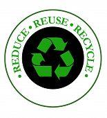 Reduce Recycle Emblem