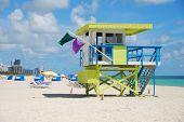 Coloful Lifeguard Stand