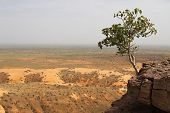 Bandiagara Escarpment in Mali, Africa