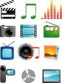 Set Media Icons